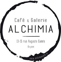 Logo du café café-galerie Alchimia à Dijon
