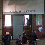 Projet derrière les portes, galerie Lafayette.