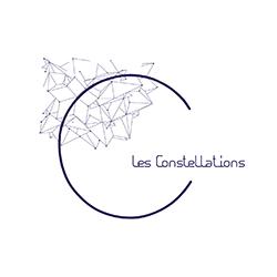 Logo des constellations représentant une constellation céleste.