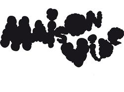 Logo de maison vide