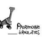 Logo de patrimoine à roulettes.